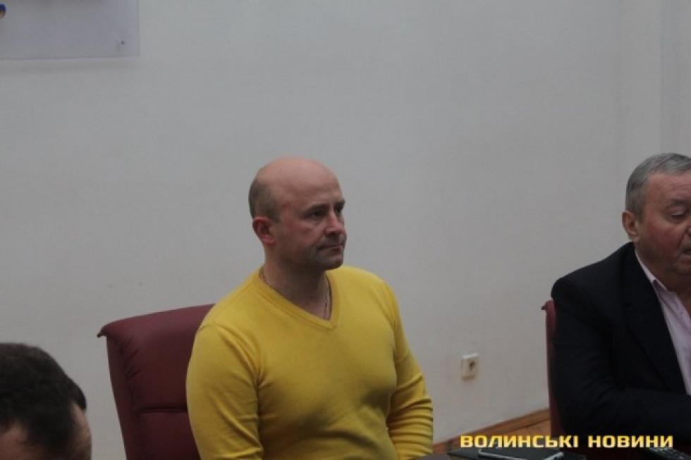 Керівник Волинської дирекції УДППЗ «Укрпошта» Іван Шевчук