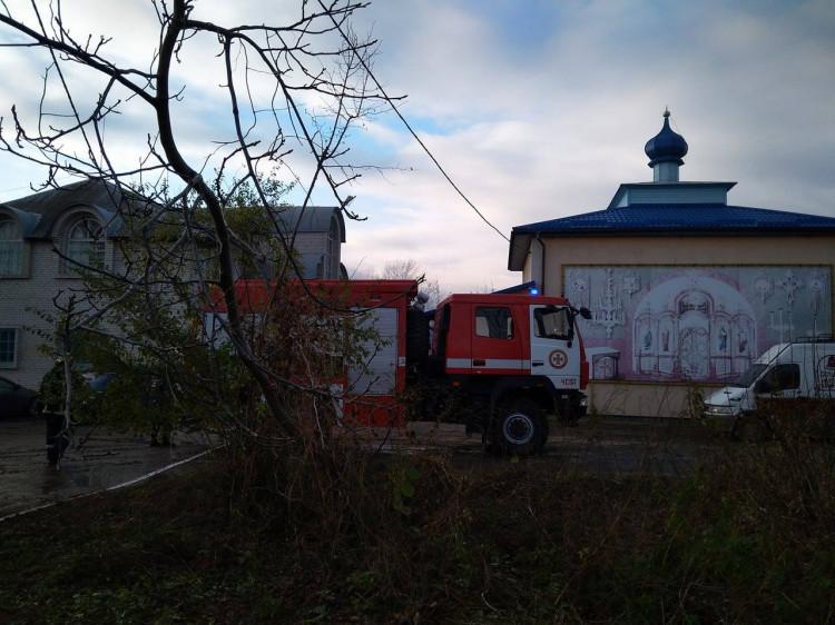 Пожежа на вулиці Василя Стуса