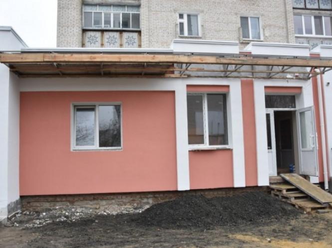 Фасад нової амбулаторії