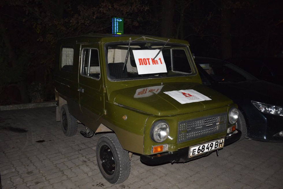 Один з лотів – автомобіль «Волинянка»