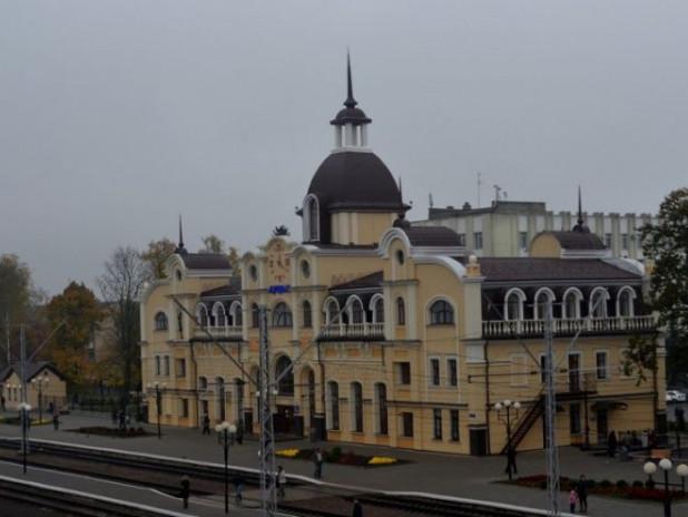 Залізничний вокзал у Луцьку
