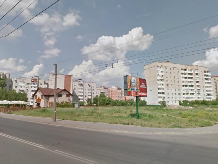 Ділянка, на якій планують побудувати церкву