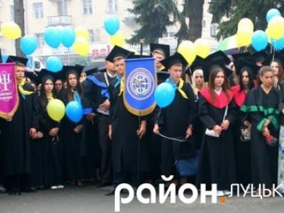 Сдуденти Східноєвропейського національного університету імені Лесі Українки
