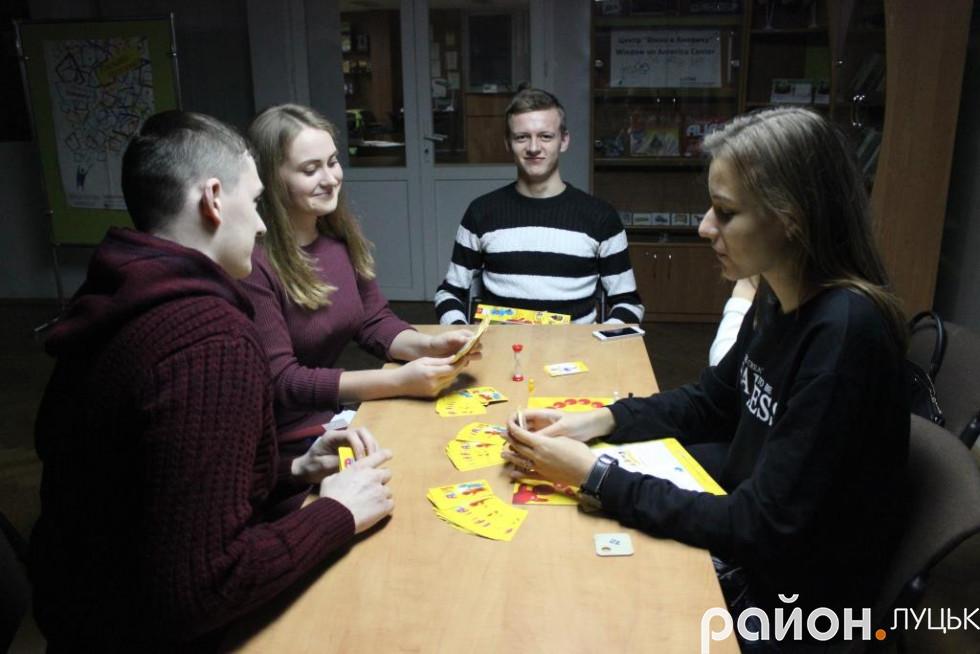 Учасникам запропонували кілка видів настільних ігор