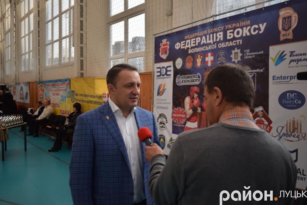 Голова Федерації боксу області Володимир Купчак припустив, що турніри подібного рівня у Луцьку проводитимуть як мінімум двічі на рік