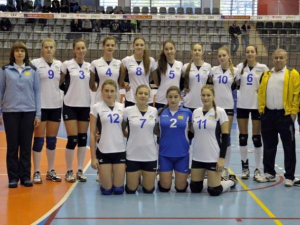 Волейбольна збірна України з дівчат віком до 17 років