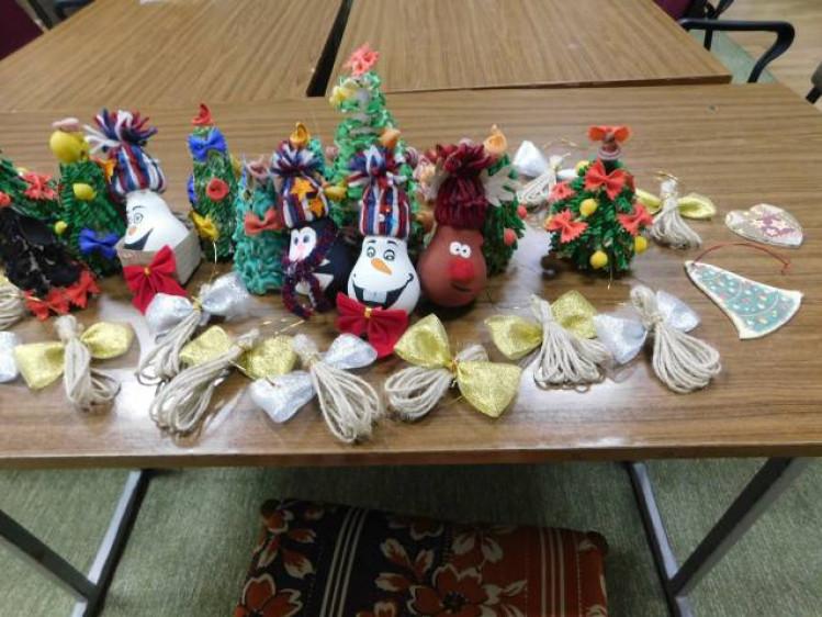 іграшки, які виготовили на майстер-класі
