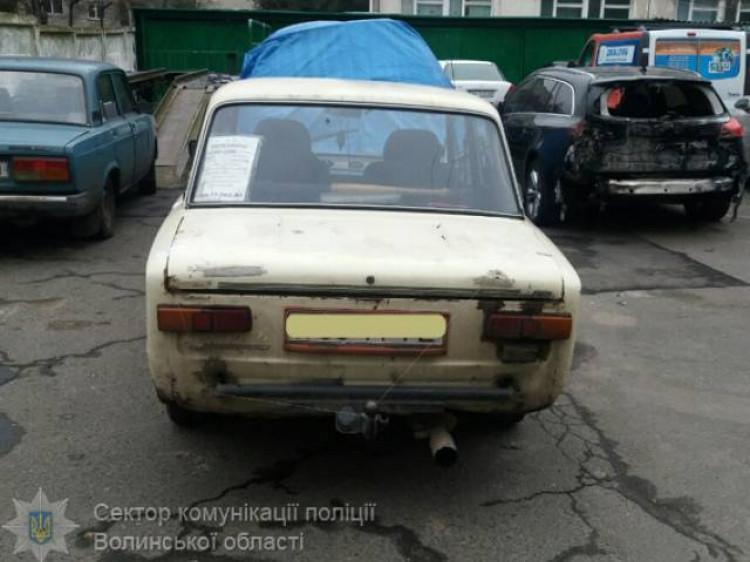 Одна з викрадених автівок
