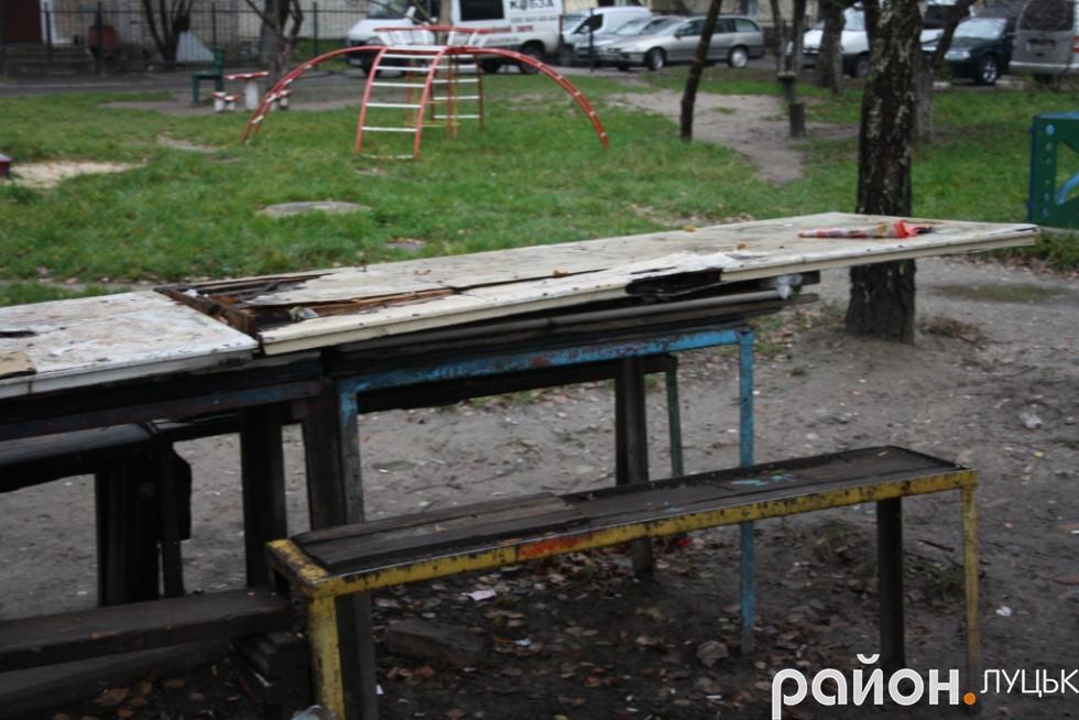 Занедбаний стіл