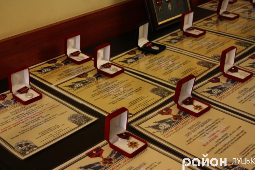 Нагороди родичам Лицарів