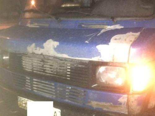 Водій вантажівки вкусив патрульного