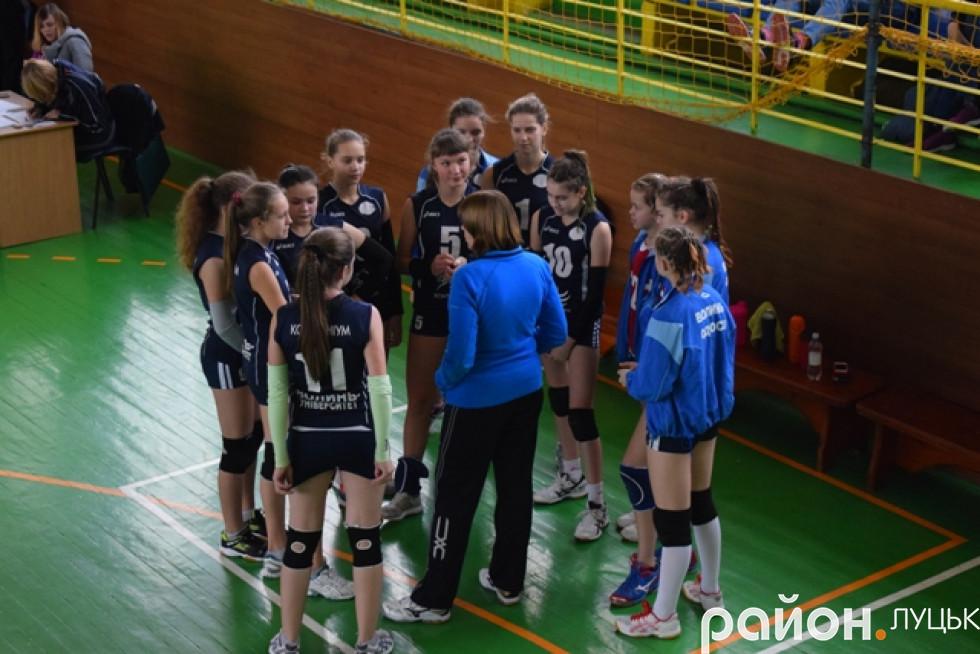 Тренерські настанови Олени Алєксєєвої для луцьких дівчат
