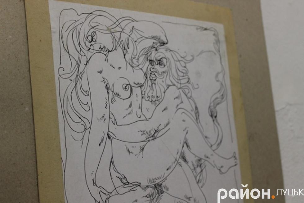 Еротичні малюнки Голованю подобається робити найбільше