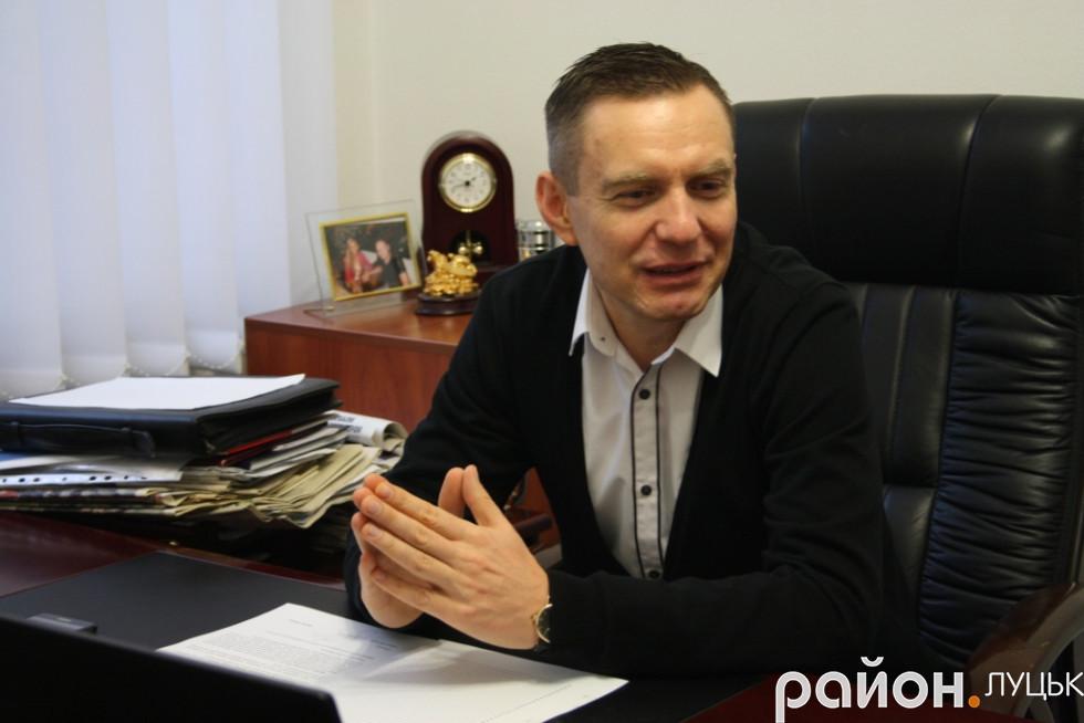 Дмитро Глазунов – голова благодійного фонду «Рідна Волинь»