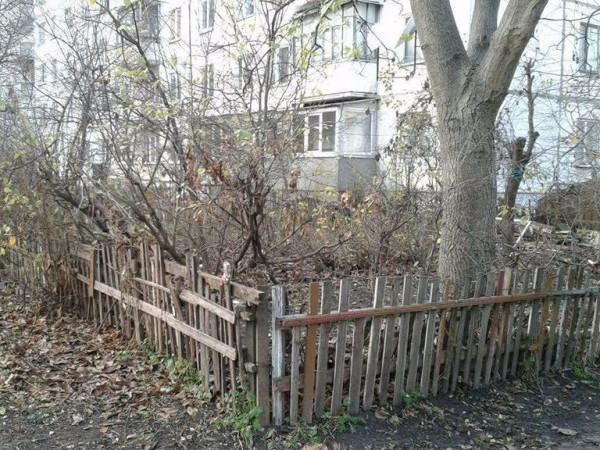 Трухляві паркани буде не так просто зносити