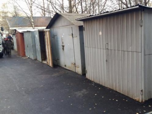 Демонтаж гаражів у Луцьку