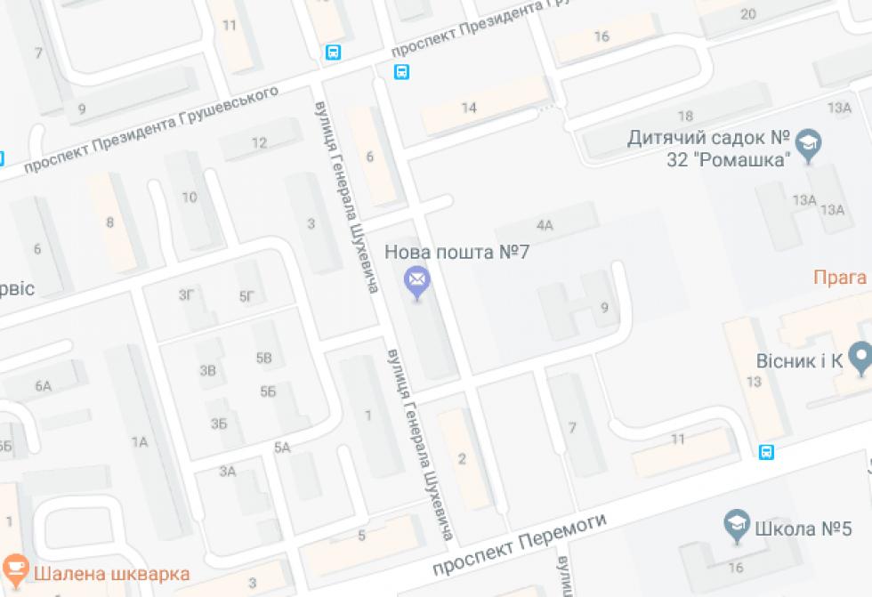 На вулиці Генерала Шухевича не буде світла