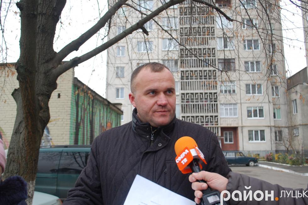 Депутат Луцької міської ради Петро Нестерук