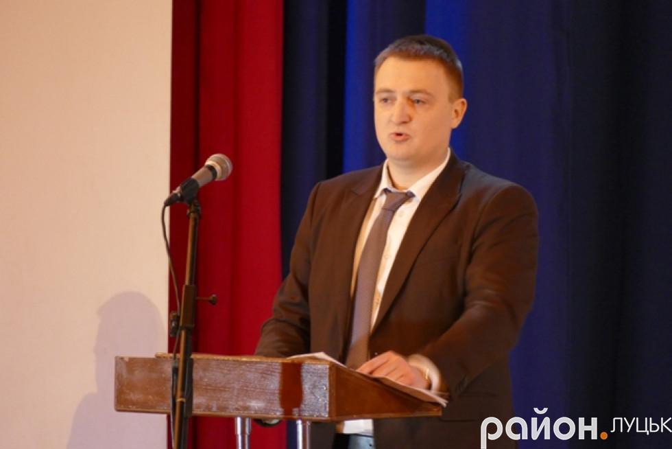 Заступник прокурора області Ярослав Голинський