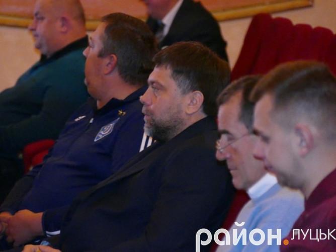 У центрі - Олександр Жуматій