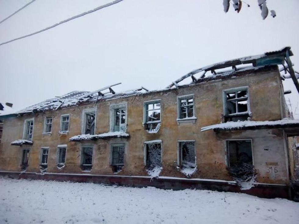 Будівля може завалитися будь-якої миті