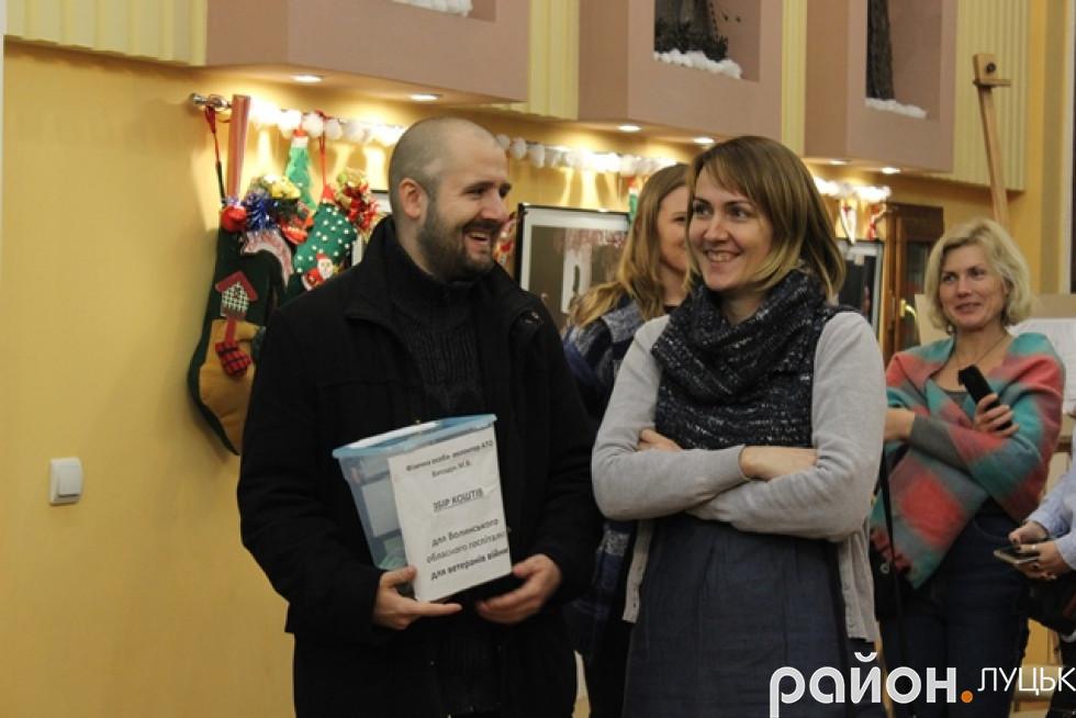 Волонтер Мирослав Ватащук збирав кошти українським військовим