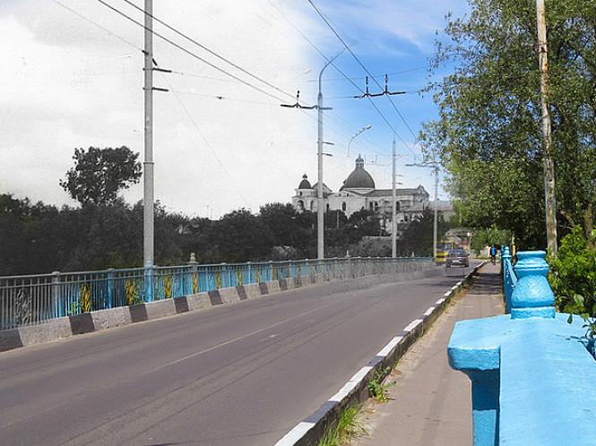 Міст на вулиці Ковельській у Луцьку