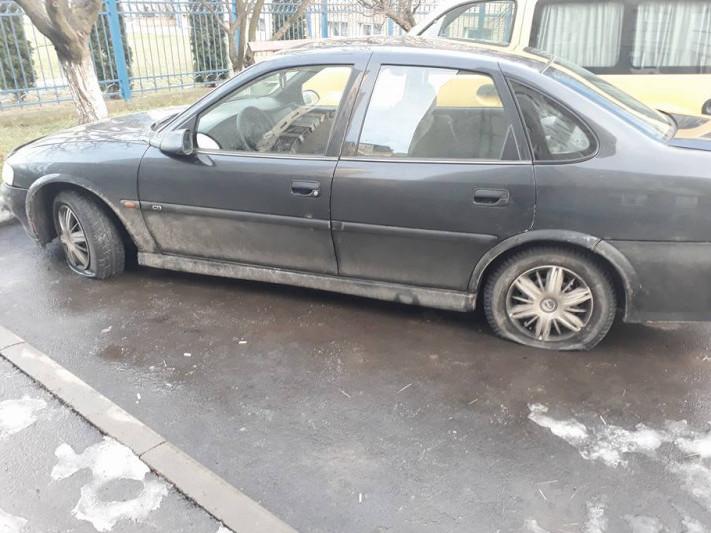 Машина комусь заважала?