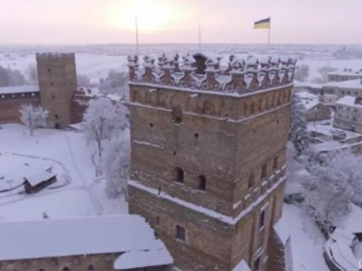 Засніжений замок Любарта