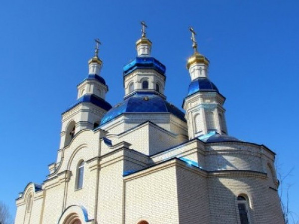 Церква у селі Великий Омеляник