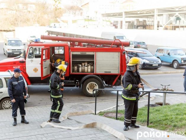 Пожежа на Шота Руставеллі