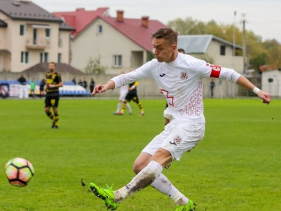 Захисник «Волині» Владислав Шаповал