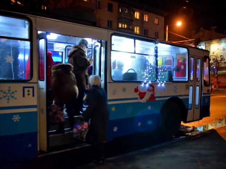 Новий рік у Луцьку буде із транспортом