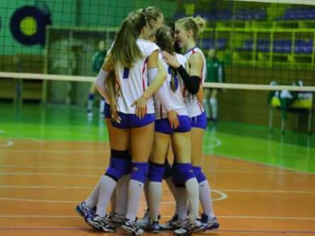 Дівчата з «Волині-Університету» упевнено виграли етап Кубка України
