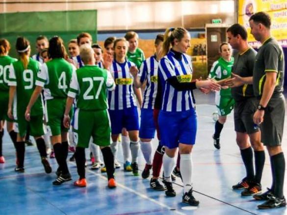 Дівчата з «Легіону» здобули першу перемогу у Вищій лізі чемпіонату України з футзалу
