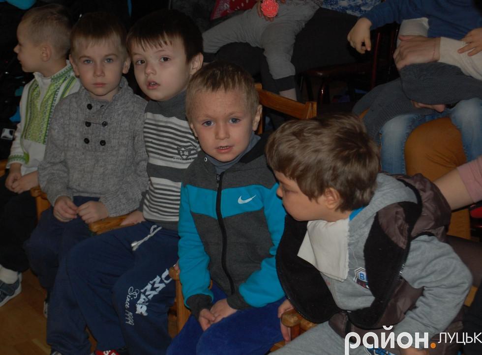 Вихованці Центру соціальної реабілітації міста Луцька