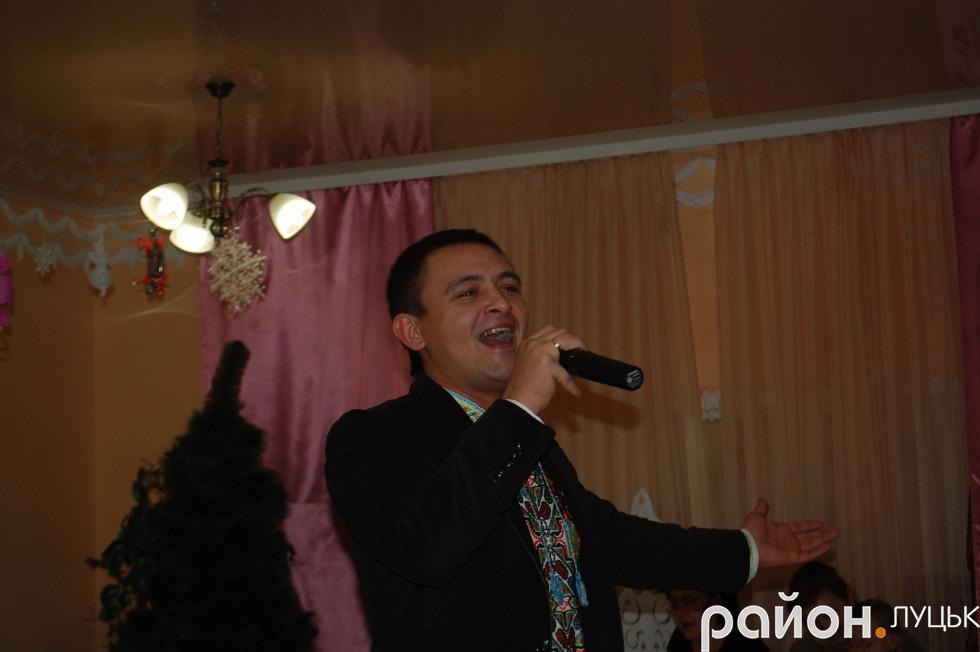 заслужений артист України Адам Горбатюк