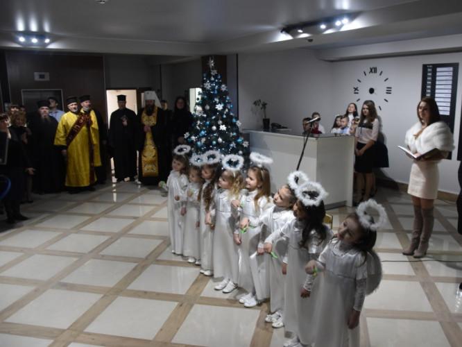Митроплит з ангелами відкрили новий суд у Луцьку