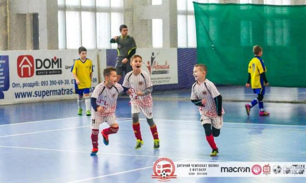 Останній футзальний уік-енд року в очікуванні нових емоцій чемпіонату Волині серед дітей