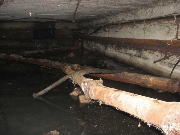 Підтоплений підвал
