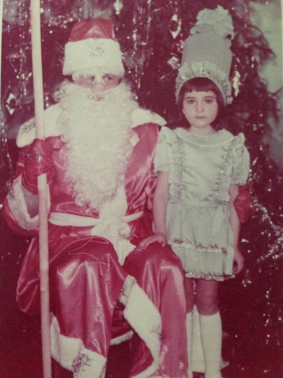 Дід Мороз і донька