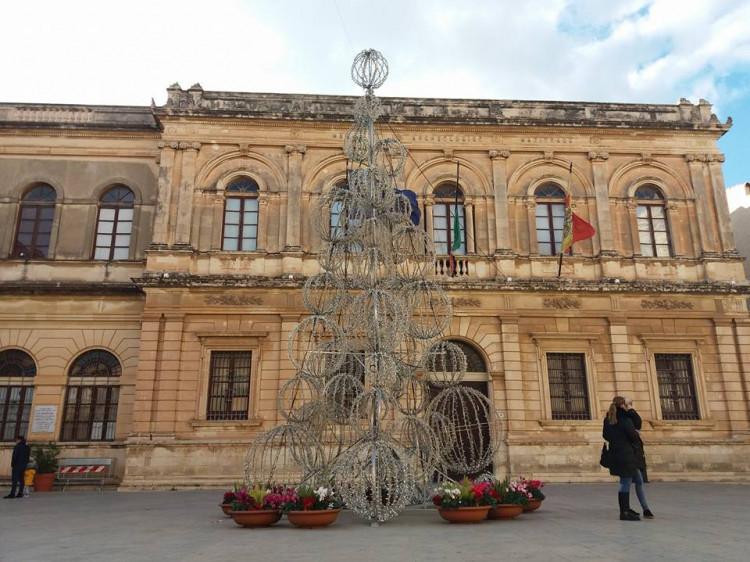 «Промінська» ялинка в Італії