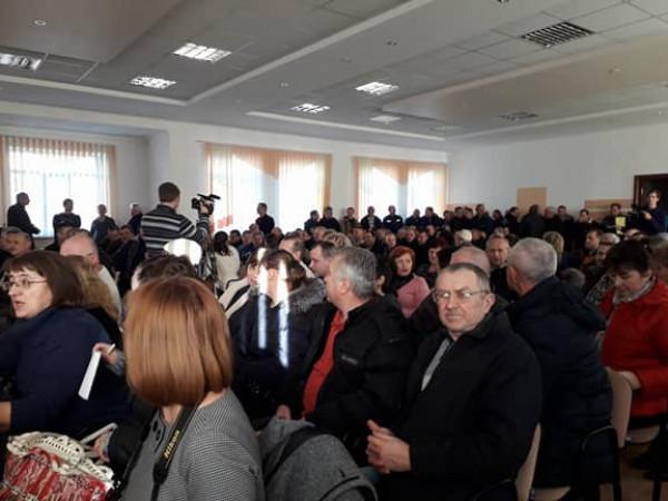 Працівники ДКП «Луцьктепло» на зборах