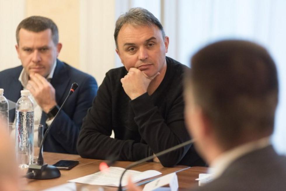 Депутат від Луцька - Ігор Лапін