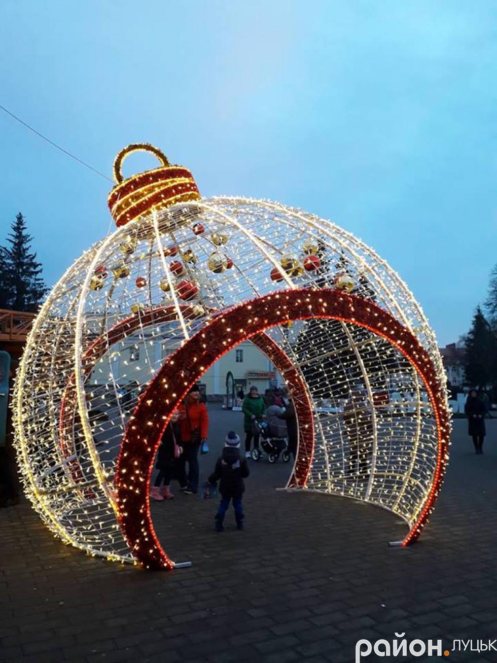 А так тішитиме лучан на новорічно-різдвяні свята