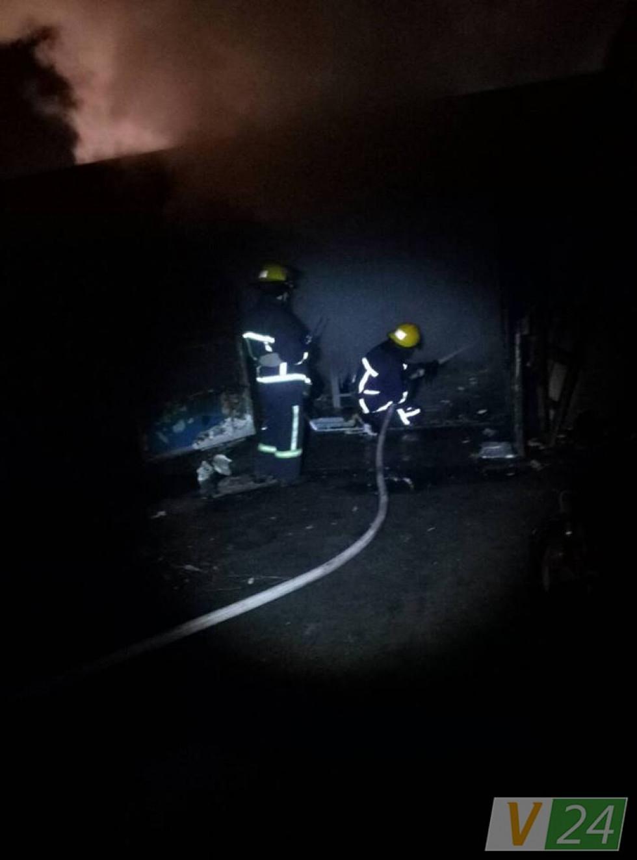 Пожежники згасили вогонь