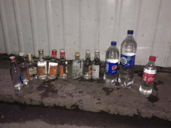 Вилучений алкоголь