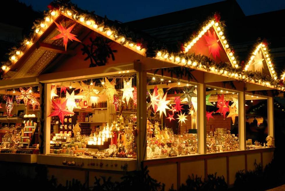 Різдвяний ярмарок у центрі Луцька