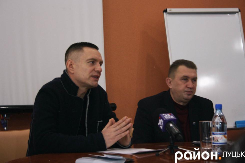 Дмитро Глазунов на презентації програми «Ніхто не забутий»
