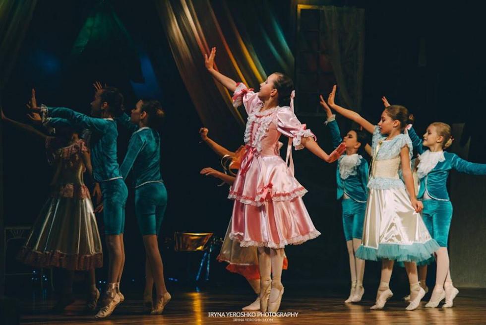 Танцювальні рухи балерин